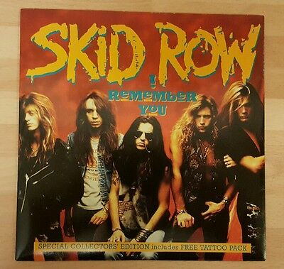 "Skid Row 'i Remember You' 7"" Vinyl Single"