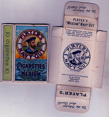 Player's Navy Cut Medium Cigarette Packet 10s