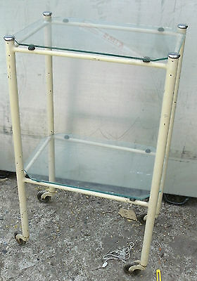 Vintage Hospital  Trolley Cabinet 1960S   (Retro,industrial,shabby Chic)