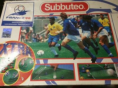 Subbuteo LW Set - World Cup France 98 Editon. Spares in Superb Condition