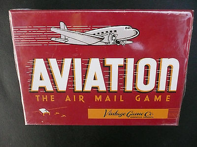 Aviation: The Air Mail Game by Vintage Game Co. Reproduction