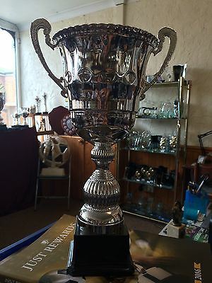Extra Large Silver Cup Trophy- Free Engraving