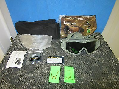 Revision Locust Paintball Protective Ballistic Shooting Goggles Military Lens