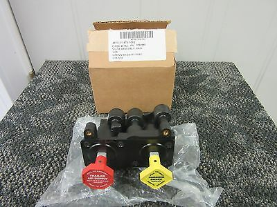 Bendix Haldex Parking Brake Trailer Air Supply Valve Dash Knob Truck Military