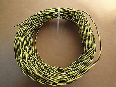 100 Ft 26 Awg stranded silver plated Teflon Twisted Pair 600V Wire