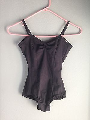 Body Wrappers Premiere Collection Black Pinch Leotard