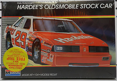 Olds Hardees Cale Yarborough Stock Oldsmobile Car 29 Monogram Sealed Model Kit