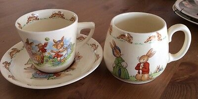 Royal Doulton Bunnykins 3 piece nursery set