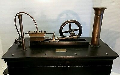 RARE 1800s E. R. ARNOLD STEAM ENGINE W/ ENCLOSED BOILER MORE THAN  TOY, UNUSUAL