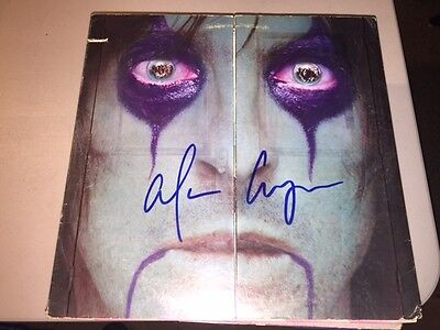 ALICE COOPER Signed Autographed FROM THE INSIDE Album LP