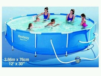 12FT  Above Ground Swimming Pool Brand New Unopened With Pump & Filter Included