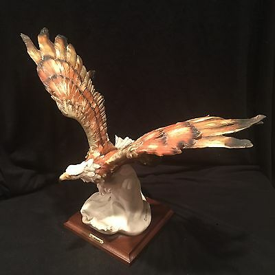 "Armani Capodimonte FLYING EAGLE Sculpture - Large 15"" 1986"