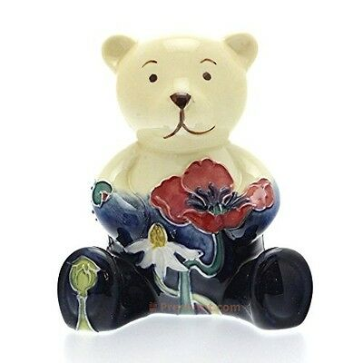 Old Tupton Ware Bear TW7401 - New Collectable Porcelain Teddy Bear Summer Meadow