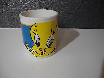 Tweety Bird Coffee Mug Warner Bros. Looney Toons Ceramic Cup Gibson 1998