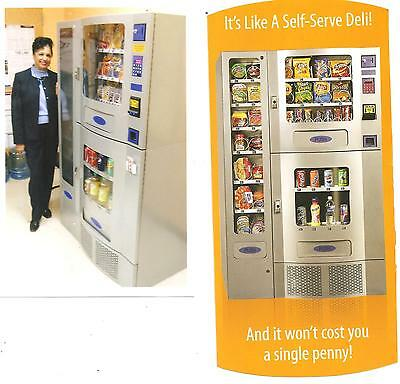 Office Deli Vending Machines-OD 38, Seaga Manufacturer, USA