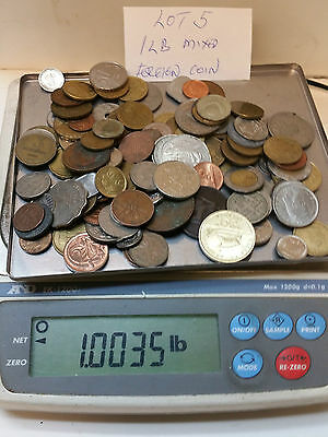 1 Pound Mixed Foreign Coins  Lot #5