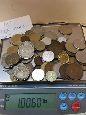 1 Pound Mixed Foreign Coins  Lot #11