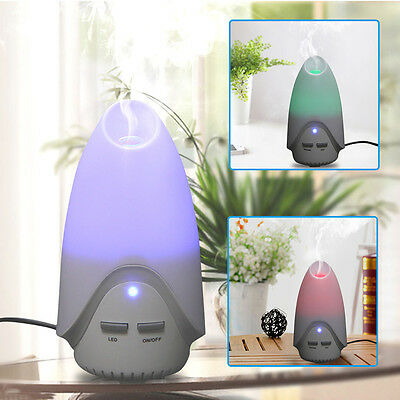 7 LED USB Essential Oil Ultrasonic Air Humidifier Aromatherapy Diffuser Atomizer
