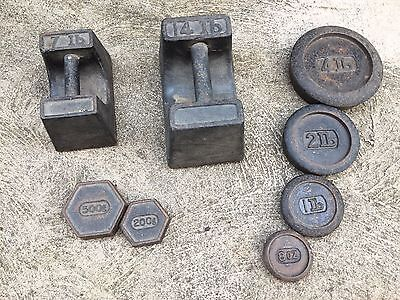 Vintage Scale Weights