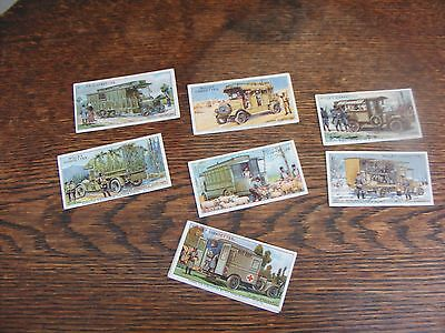 W D & H O Wills Cigarette Cards Military Motors Part Set 8 Of 50