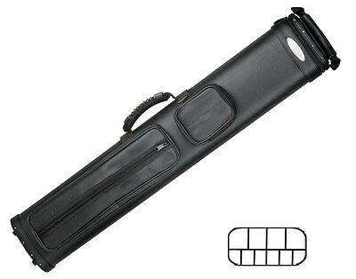 McDermott 4x6 - Shooter Collection - Hard Cue Case (Black)