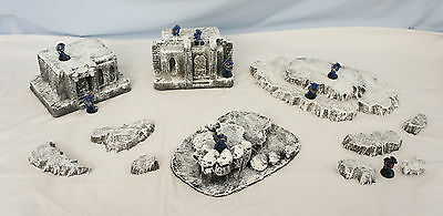 WARGAME Terrain Scenery HandCrafted  FROSTGRAVE COMPLETE SET #3 Free Shipping