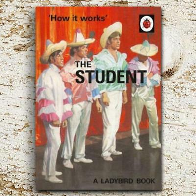 'How it works' The Student   A Ladybird Book – College High School Learning Funn