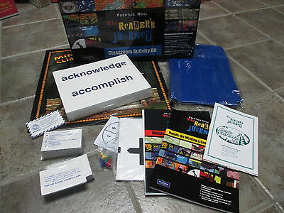 Prentice Hall The Reader's Journey Classroom Activity Kit Grade 6 7 8 Pearson