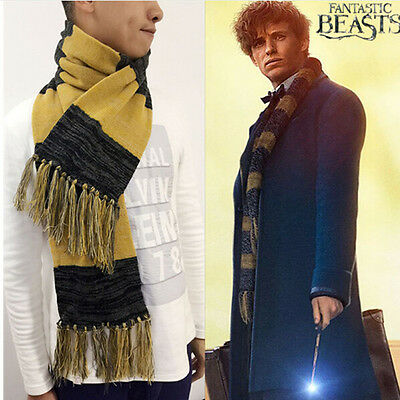 Hot Fantastic Beasts and Where to Find Them Newt Scamander Scarf