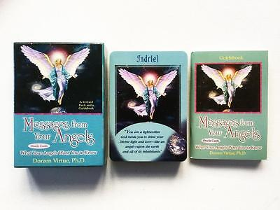 Messages From Your Angels Oracle Cards By Doreen Virtue 44 Card Deck / Guidebook