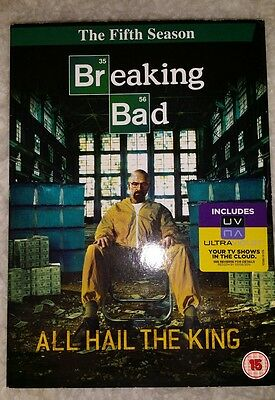 Breaking Bad - Series 5 - Complete (DVD, 2013, 3-Disc Set, Box Set)