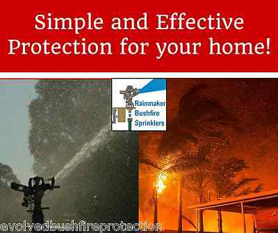 Bush Fire Roof Sprinkler| Automated ember defence drencher - Fire pump Accessory