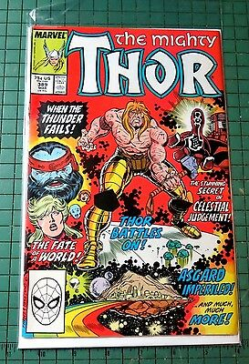 The Mighty Thor #389 Marvel Comics  Copper Age CB566