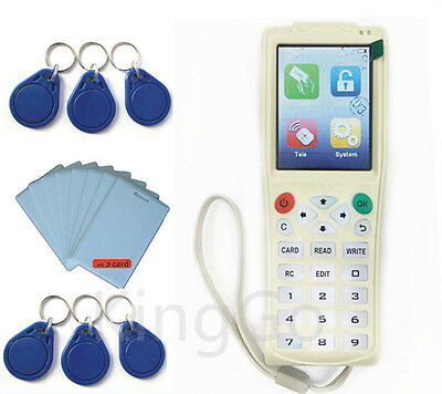 Handheld RFID IC copier iCopy 3 with Full Decode Function Smart Card Key Machine