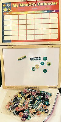 Magnetic Calendar,4 Years And Up, Non Toxic.