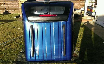 ford ranger mk5 double cab avenger xtc bed hardtop,canopy,performance blue