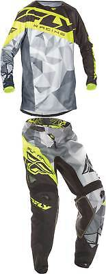2017 Fly Racing Kinetic Crux Jersey Pant Combo - MX ATV Motocross Dirt Bike Gear