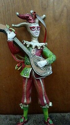 Court Jester Court ornament   In red *