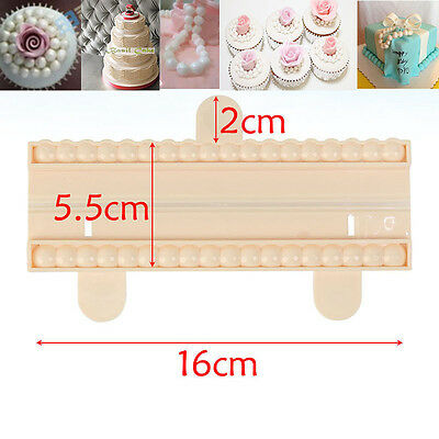 9mm Fondant Cake Cookie Modelling Sugarcraft Gum Pearl Bead Cutter Mold Mould