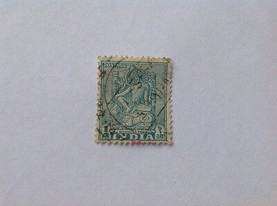 India One Anna Stamp
