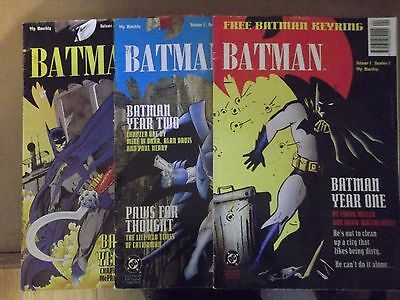 3 DC Batman Comics Volume 2 issue 2, 3, and 4 all very good condition