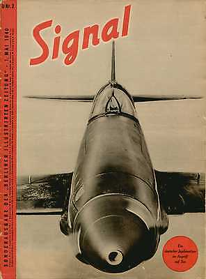 Electronic publication (PDF) Signal magazine No 2 from 1940 german edition