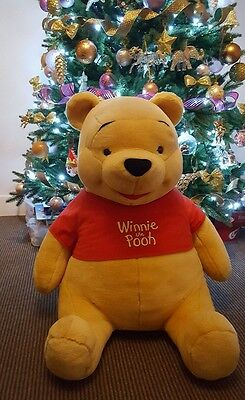 Giant Winnie The Pooh Disney -29Inches Tall