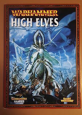 Warhammer Army Book : High Elves