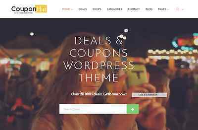 Enormous Coupon Store Website Free Installation+Hosting