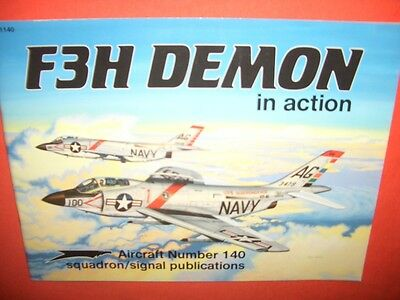 Squadron Signal 1140, F3H DEMON in action