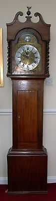 Early 1800's German,English style longcase/grandfather 8 day clock  - working!