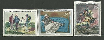 Timbres neufs** - FRANCE n°1363-65