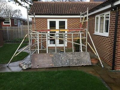 EURO TOWER EUROTOWER ALLOY SCAFFOLD ACCESS PLATFORM, 4m, more available