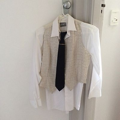 Horse Riding Show Jacket, Vest, Tie And Shirt
